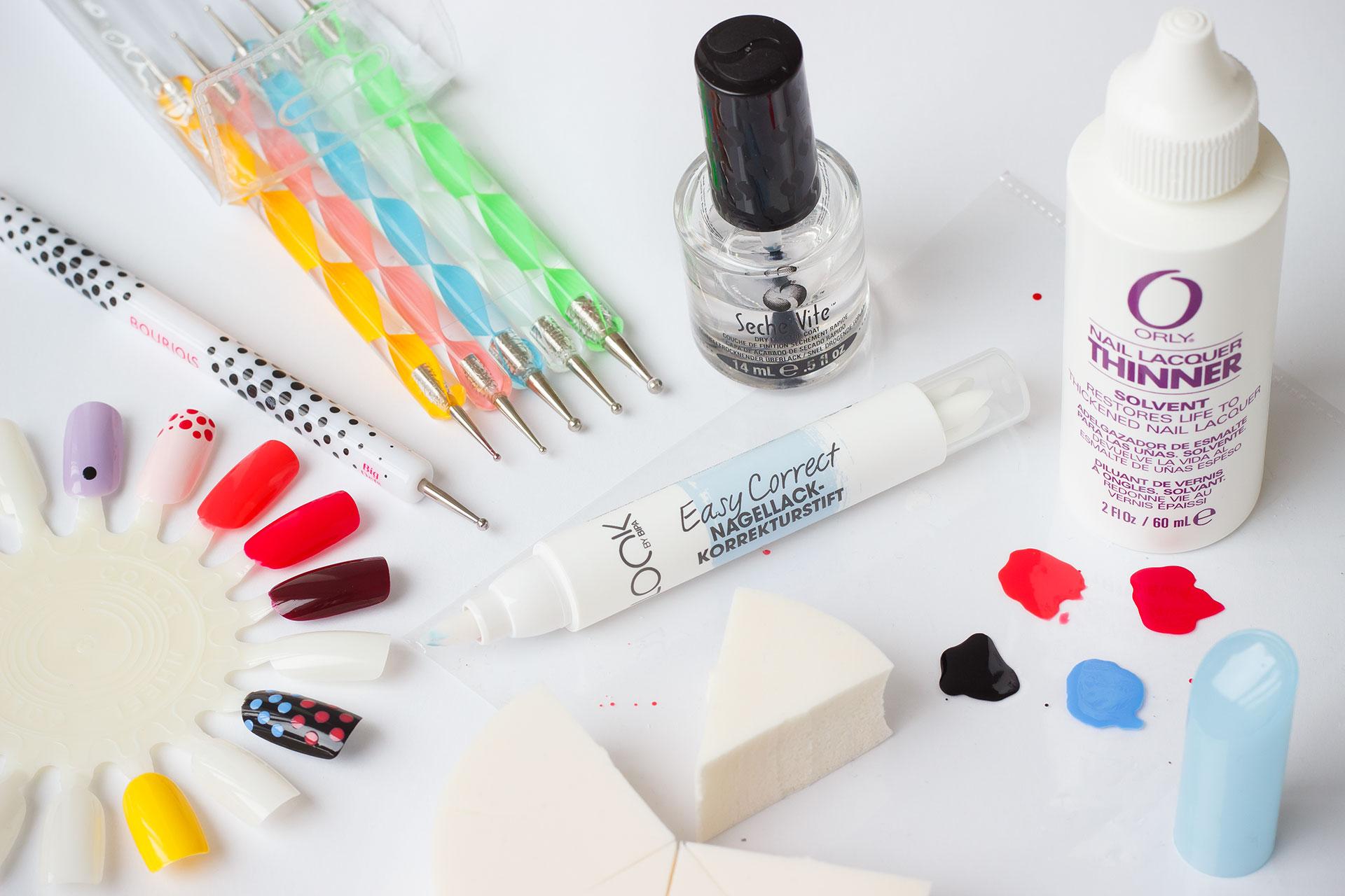 My nail art essentials | Zuzana Humajova